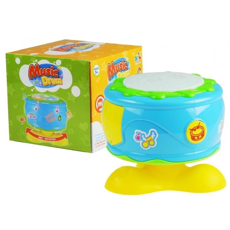 Bubon pre dieťa modro-žltý