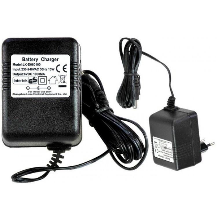 Nabíjačka  pre elektrické autíčko 12V 1000mA  s kontrolkou nabíjania