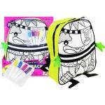Detský ruksak na maľovanie + fixy