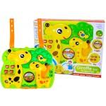 Projektor pre detskú postieľku s príveskom žirafa