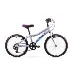 Detský bicykel 20 Romet Jolene Kid 1 Strieborný