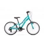 Detský bicykel 20 Romet Cindy Zelený