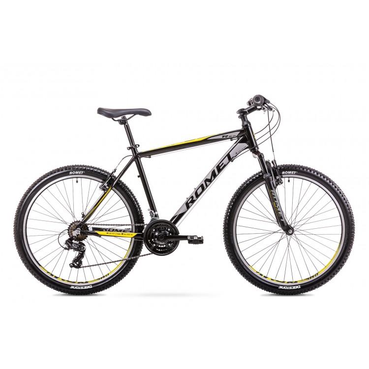 """Horský Bicykel Romet Rambler 26"""" R6.0 TY300 19"""" L Čierno-žltý"""