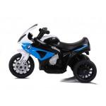 Elektrická motorka BMW S1000RR trojkolka - modrá