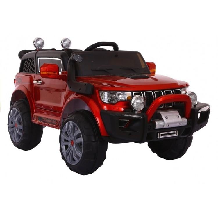 Elektrické autíčko Jeep KP-6188 - nelakované - červené
