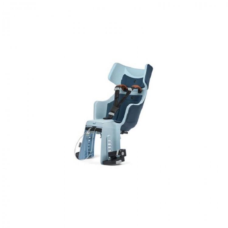 Detská sedačka Bobike Tour Exclusive E-BD na nosič - modrá
