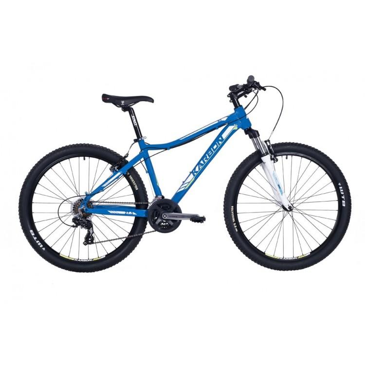 """Horský bicykel 27,5"""" Karbon Trail R3 19"""" Modrý"""