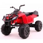 Elektrická štvorkolka Quad Terrain 4x4 - červená