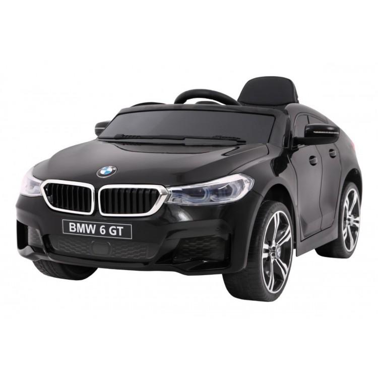 ELEKTRICKÉ AUTÍČKO BMW 6 GT - ČIERNE