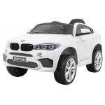 ELEKTRICKÉ AUTÍČKO BMW X6 NELAKOVANÉ - BIELE