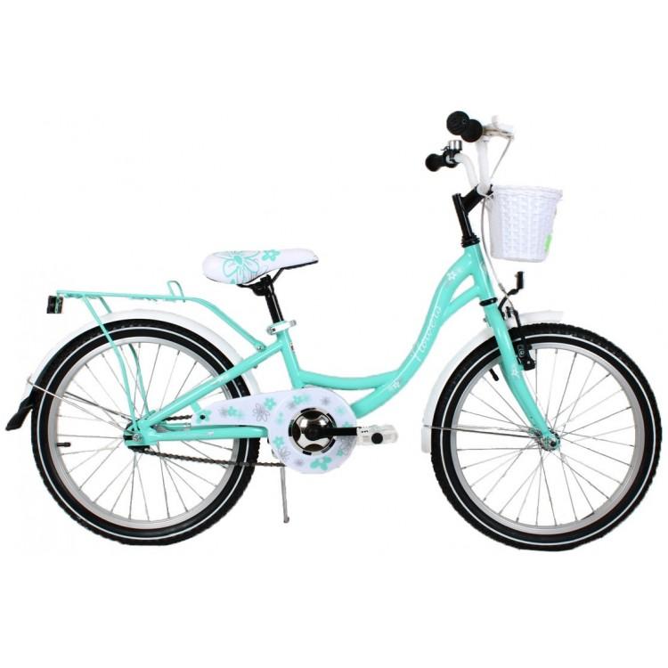 Detský bicykel 20 Turbo Flowers mätový