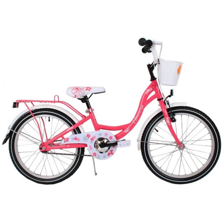 Detský bicykel 20 Turbo Flowers korálový