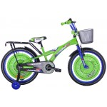 Detský bicykel 20 Fuzlu Racing Sport zeleno-modrý