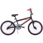 Detský bicykel 20 Fuzlu BMX Eagle 360 čierno-červený