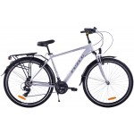 "Trekingový bicykel 28 Fuzlu Core 19"" Strieborno-sivý"