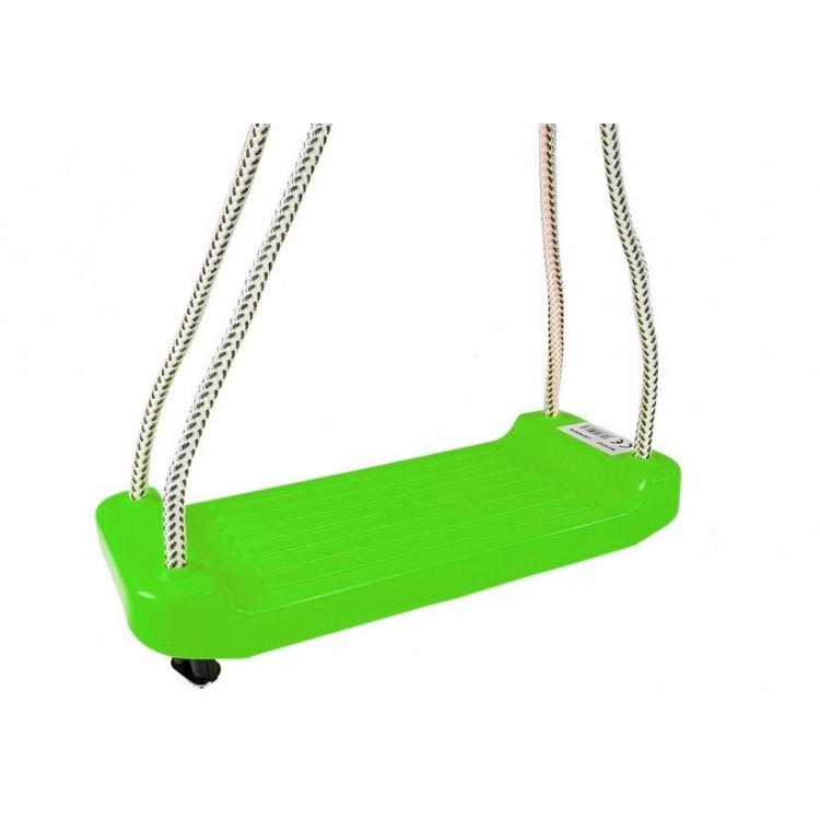 Plastová hojdačka - zelená