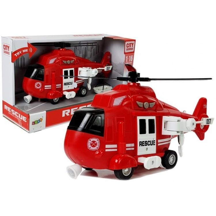Záchranársky hasičský vrtuľník 1:16