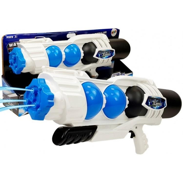 Veľká čiernobiela vodná pištoľ