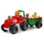 Traktor s prívesom