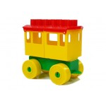 Lokomotíva s troma vagónmi