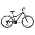 Horský Bicykel Fuzlu Team Zeleno-čierny