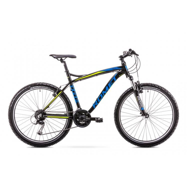 "Horský Bicykel Romet Rambler Fit 26"" Alivio M  Ver 2 Čierno-modrý"